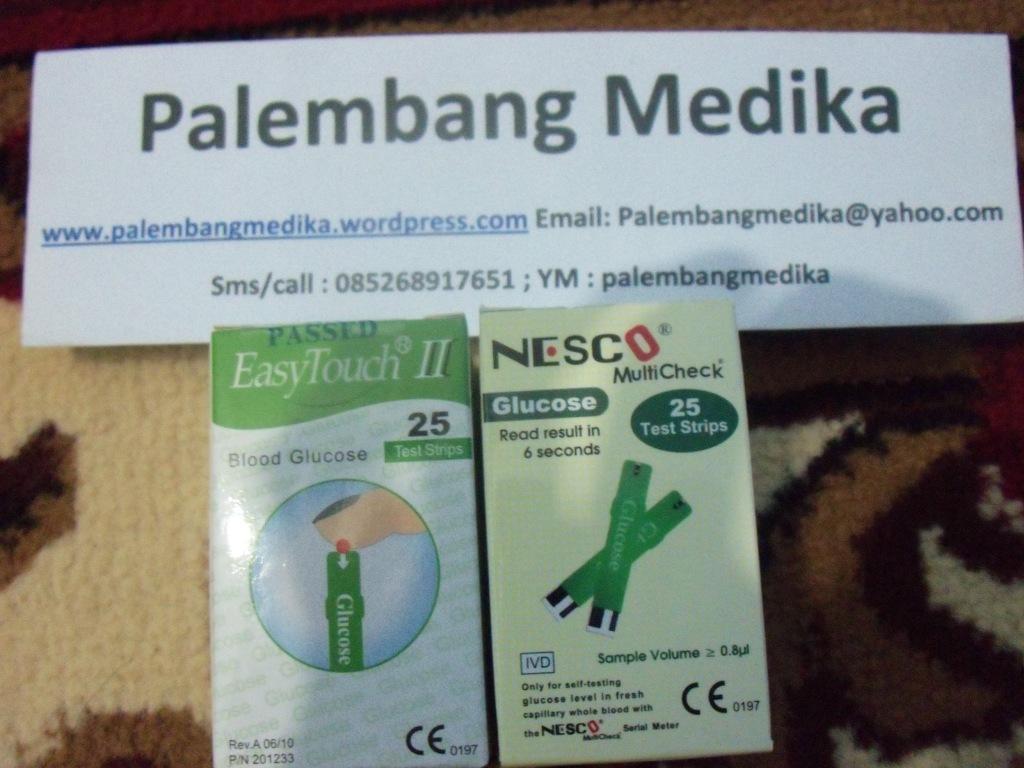 Daftar Harga Alat Glukosa Hb Asam Urat Kolesterol Dan Strip Easy Touch Desember 2012 Palembang Medika